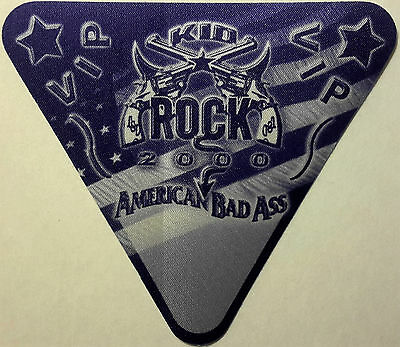 * Kid Rock * - American Bad Ass Tour - Satin Backstage Pass - Vip - 2000 - Mint