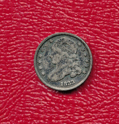 1833 Capped Bust Silver Dime **very Nice Circulated Dime**
