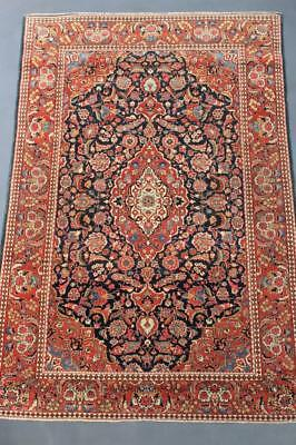 Antique Kashan Rug / Carpet