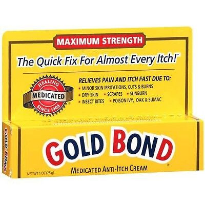 Gold Bond Maximum Strength Medicated Anti-Itch Cream  1 oz