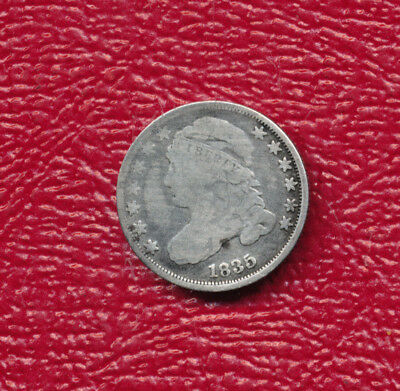 1835 Capped Bust Silver Dime **very Nice Circulated Bust Dime**