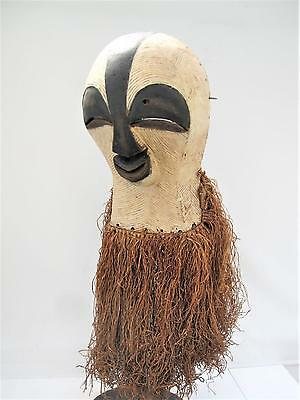 2308 African Tribal Collection - LARGE RARE SONGYE KIFWEBE MASK, DRC CONGO