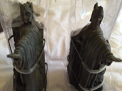 Sideshow helm of sauron 1 4 scale picclick uk - Argonath bookends ...