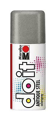 Marabu do it colorspray Antique Steel, antik silber, 150 ml Sprühfarbe Spray