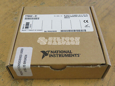 National Instruments NI 9422 8-Channel Sinking Sourcing Digital Input Module