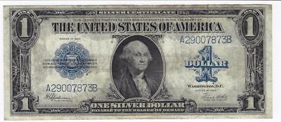 Series Of 1923 $1 One Dollar Large Silver Certificate Blue Seal Ms/au Beautiful