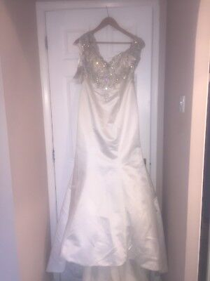 Mori Lee 2880 Wedding Dress size 12, New Only Tried On. Paid £1600