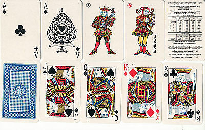 Deck of East German (DDR) COEUR playing cards EMU brand Pre 1971