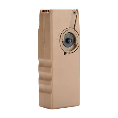 WoSport 1000rd M4 BB Speed Loader Airsoft Quick Hunting Magazine Paintball Brown
