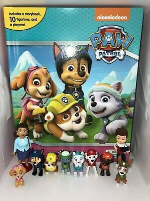 Paw Patrol Girls #2 Busy Book - Story 10 Figures Brand New Uk Stock