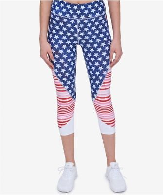 bbe5aa9707618 TOMMY HILFIGER WOMENS Active Mid Rise Crop Leggings -  49.99