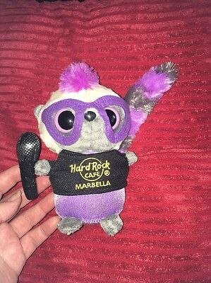 Lemur Beanie Hard Rock Cafe Marbella Rare Limited Edition
