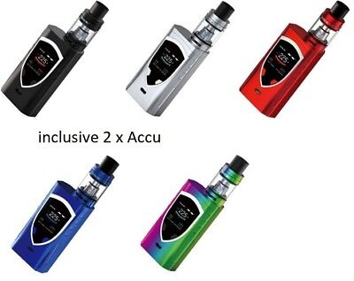 SMOKTECH PROCOLOR 225W GRIP FULL KIT 5 Color + 2 xACCU SMOK JOYETECH BOX ALIEN