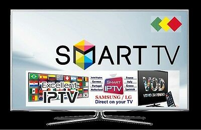 IPTV 1 AN SMART TV BOX ANDROID MAG 25x M3U 3200 CHAINES+SERIES+FILMS TEST DISPO