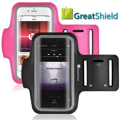 GreatShield [FIT] for iPhone 8 7 4.7 Sport Jogging Sport Key Slot Armband Holder