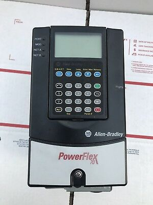 ALLEN BRADLEY POWERFLEX 70 2hp cat#20AD3P4A0AYNNNC0 Free Shipping!