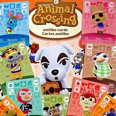 NEW Amiibo - Animal Crossing - Series 2 Cards Pick Your Own 101-200 Nintendo 3DS