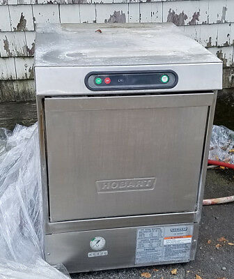 Hobart LXi-H commercial dishwasher with built in booster