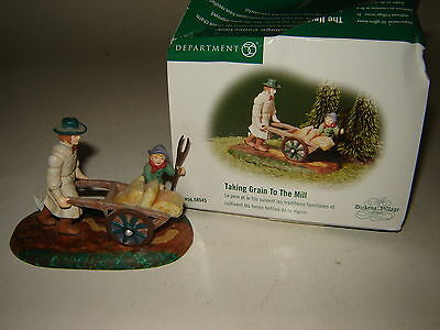 Dept 56 Dickens Village - Taking Grain To The Mill