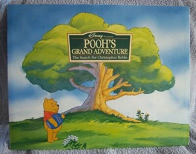 Disney's Pooh's Grand Adventure Lithographs Set of 4 - NEW Factory Sealed