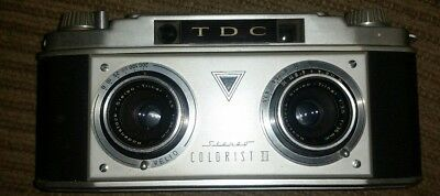 -TDC Colorist II 35 mm Stereo Camera with Rodenstock 1:3.5 lens *READ*