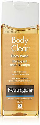 Neutrogena Body Clear Body Wash for Clean Clear Skin 8.5 Ounce