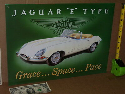 JAGUAR E JAG ==== BEAUTIFUL ==== OLD SIGN Dated 1994 - brought back from England