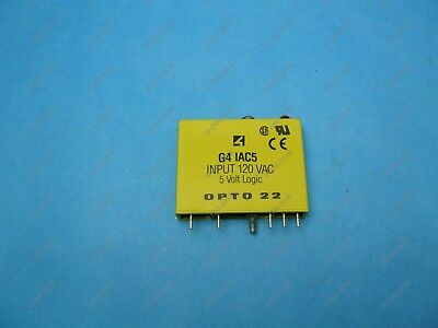 Opto22 G4IAC5 Input Module 90-140 VAC 5 VDC Logic Used Working