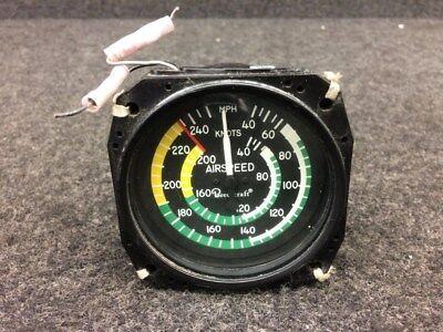 Instruments Inc. Airspeed Indicator  P/N 58-380019-5 (Lighted: 14V)