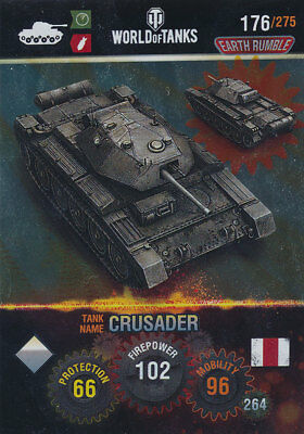 Name: T95 Metal card Nr 216 Panini World of Tanks Trading Cards