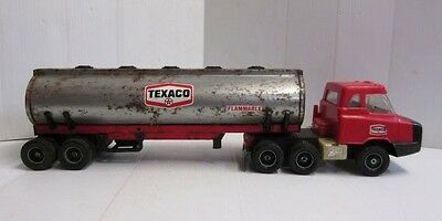 Vintage Republic Tool and Mfg. Corp - Toy Texico tank truck w/Cab