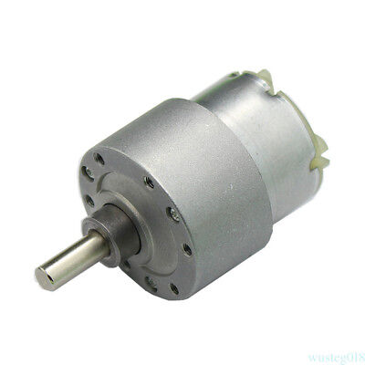 3.5RPM  DC 12V High Torque Cylinder Electric Micro Motor Gearbox Slow Down Mute