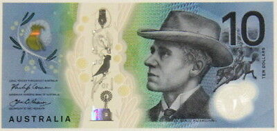 Australia 10 Dollars 2017 P New Design Clear Feature Polymer Unc Nr