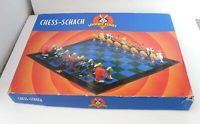 Looney Tunes Chess Schach 1999 Warner Brothers w/ Box