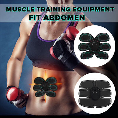 Electrical Abdomen Muscle Stimulator Home Training Body Shape Trainer Abs / Belt