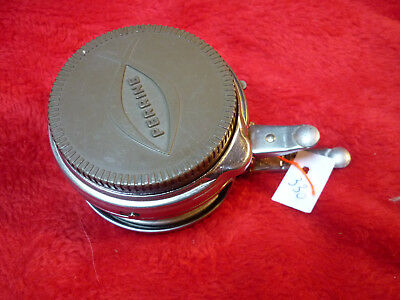 ancien moulinet mouche automatique PERRINE TBE N°80 old automatic fly reel VGC