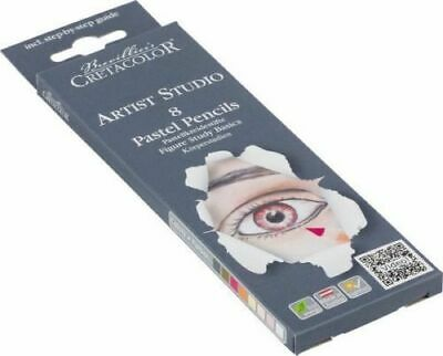 Cretacolor Studio Pastel Pencil Set -  Portrait 8pc