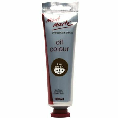 Mont Marte Oil Paint 100ml - Raw Umber