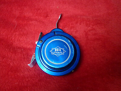 moulinet mouche auto HORROCKS IBBOTSON UTICA N.Y  automatic fly reel blue VGC