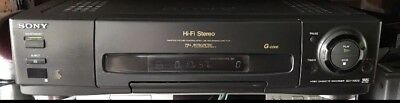 Sony SLV-X822 VCR Video Cassette Recorder VHS Player HiFi 6 Head