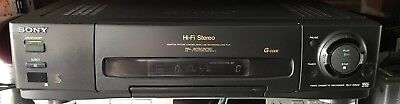 Sony SLV-EZ44 VCR Video Cassette Recorder VHS Player