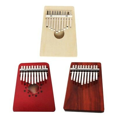 Thumb Piano Traditional Child  Musical Instrument Accompaniment Gifts 10 Keys