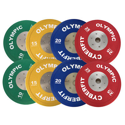 Olympic Weight Plates Set 140kg ELITE Bumpers