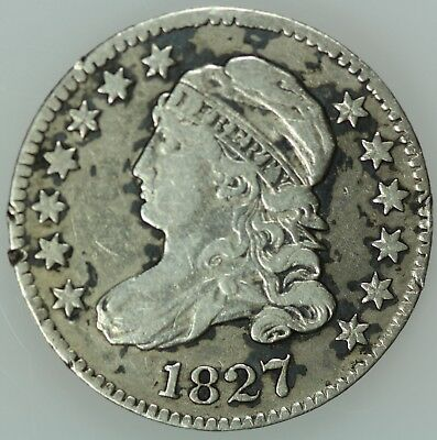 1827 Bust Dime! Xf Details! Silver! 10C! Us Coin Lot #6816
