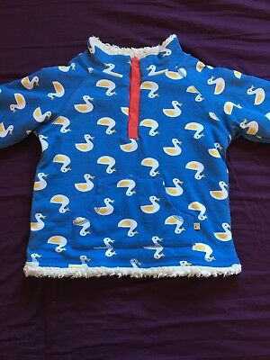 Frugi Duck Snuggle Fleece 18-24