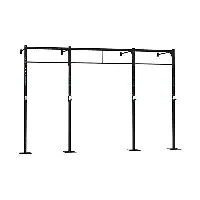 Plataforma Rack Estacion Pull Squat Barras Cross Training Ganchos J Gimnasio