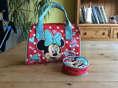 Kids Disney Minnie Mouse bag and purse. New without tags.