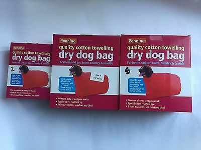 Pennine Dry Dog Bag - Sizes 2, 3, 4, 5 & 6 - spaniels, poodles, labradors, boxer
