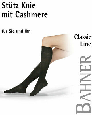 Support Tights Bahner Classic Line Stockings Knee with Cashmere