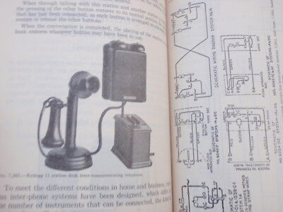 1936  Telephones, Telegraph  & Electricity 500 page, book